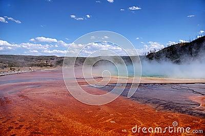 Color Bands, Mud Flats & Tourist