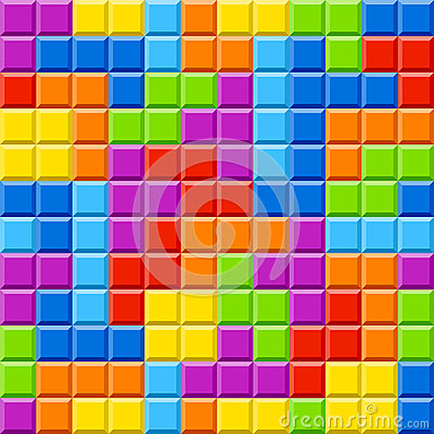 Color blocks background