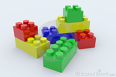 Color blocks. Toy