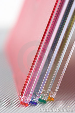 Free Color Cd Boxes Stock Image - 8504681