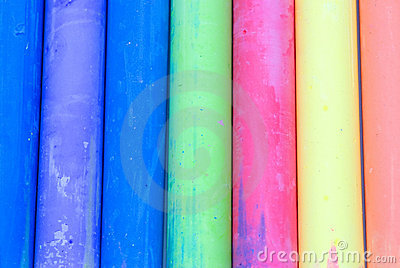 Color Chalk Abstract