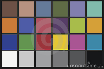 Color Checker chart