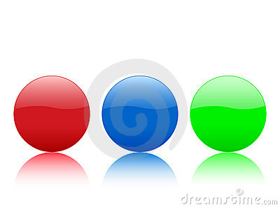 Color circle buttons