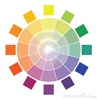 Free Color Circle Diagram Stock Images - 42191724