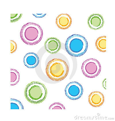 Color circles texture