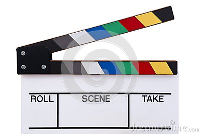 Color clapperboard front