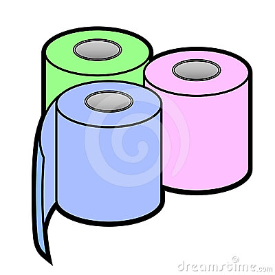 Color clean paper