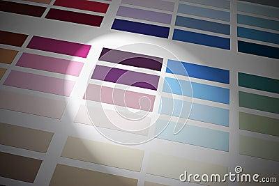Color Colors Chart Background