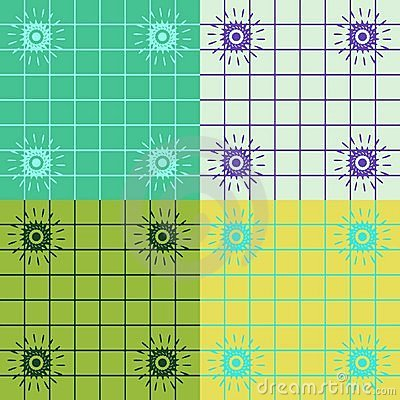 Color Coordinating Squares