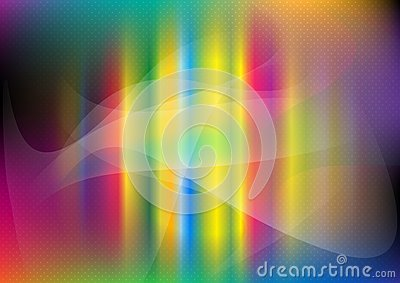 Color cosmic background