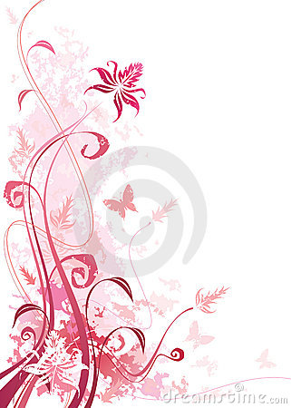 Color de rosa floral