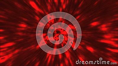 Color de velocidad fractal almacen de metraje de vídeo