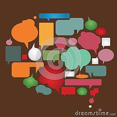 Color dialog bubbles  collection