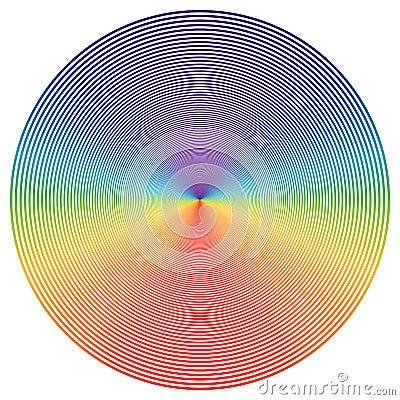 Color disk