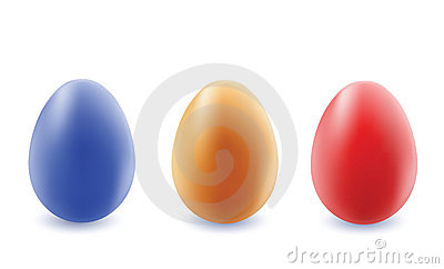 Color eggs.