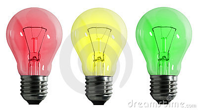 Color electric lamp