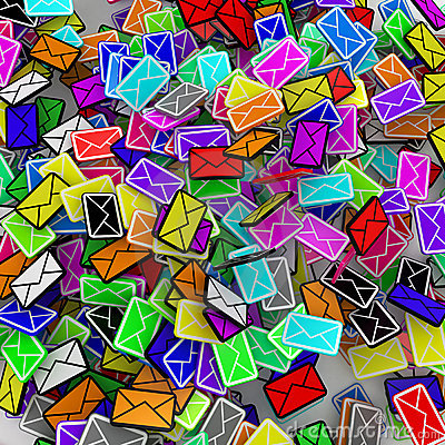 Color Email Square