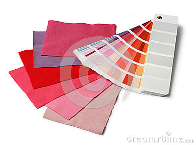 Color and fabric samples