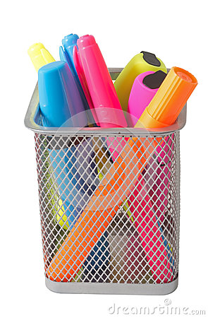 Free Color Felt-tip Pens Royalty Free Stock Photos - 70743568