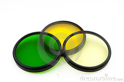 Color Filters Stock Photos - Image: 10208633