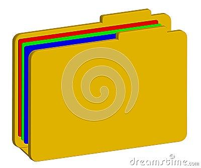 Color folder 3d