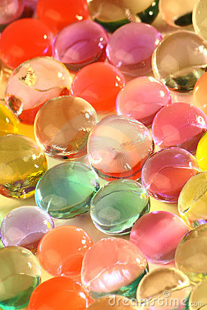 Free Color Gel Balls Stock Photography - 13898312