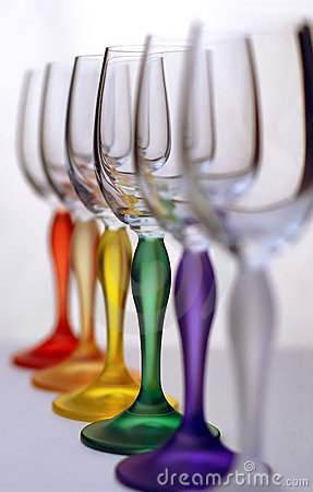 Free Color Glasses Royalty Free Stock Photo - 3521055