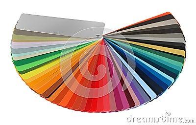 Color guide spectrum