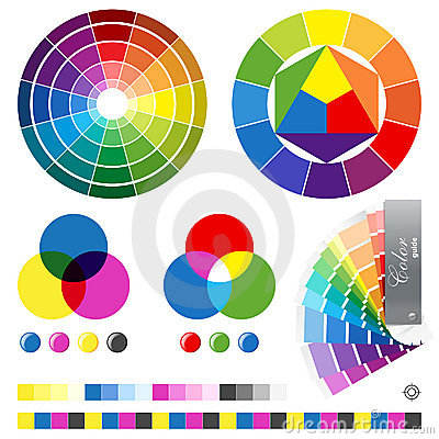 Free Color Guides Stock Images - 23363634