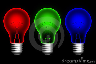 Color  lightbulbs