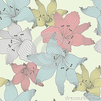 Color lilies