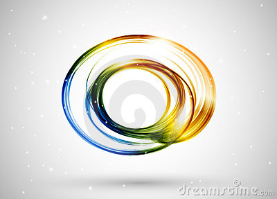 Color lines abstract background