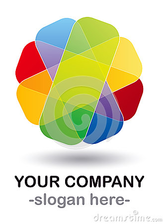 Color logo design
