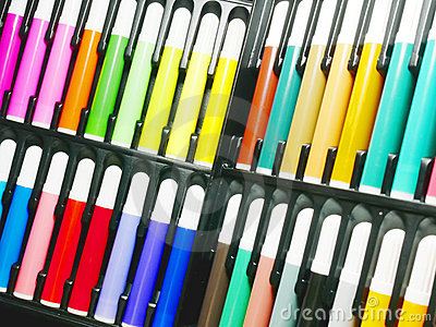 Color mark pen