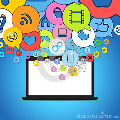 Color media icons