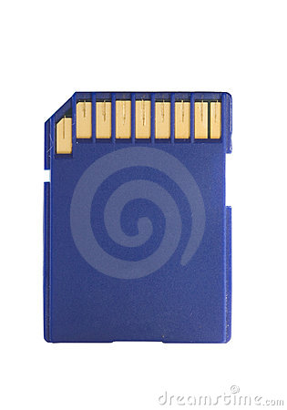 Color memory sd card data