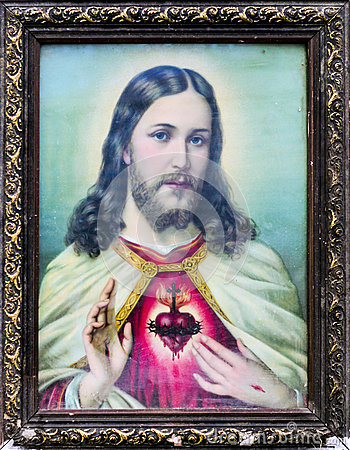 Color old picture of Jesus
