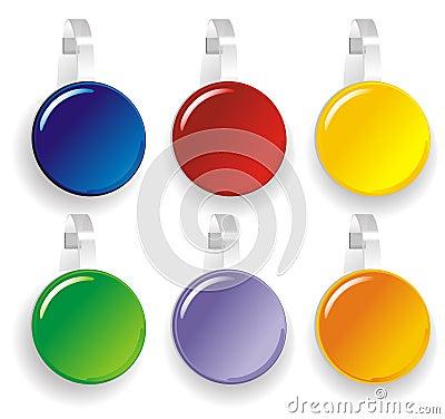 Color Paper wobbler