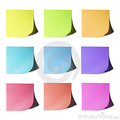 Color Papers Note