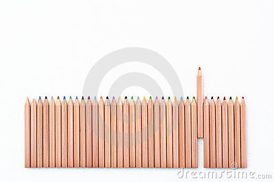 Color Pencil Fence