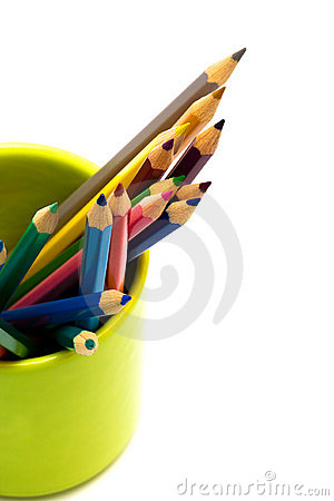 Free Color Pencils Royalty Free Stock Photo - 11943835