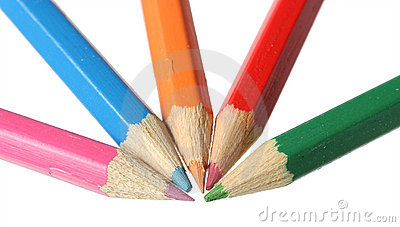 Color pencils.