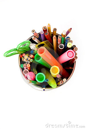Free Color Pencils Stock Image - 2421821