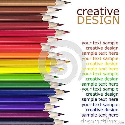 Free Color Pencils Royalty Free Stock Photos - 30296158