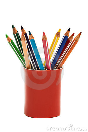Free Color Pencils Stock Image - 6519321