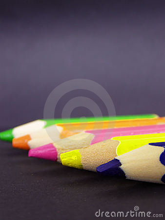 Free Color Pencils Royalty Free Stock Photography - 7144497