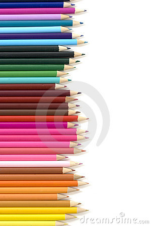 Free Color Pencils Background Stock Images - 2075194
