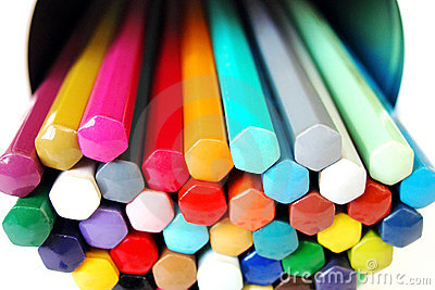 Color pencils Palette