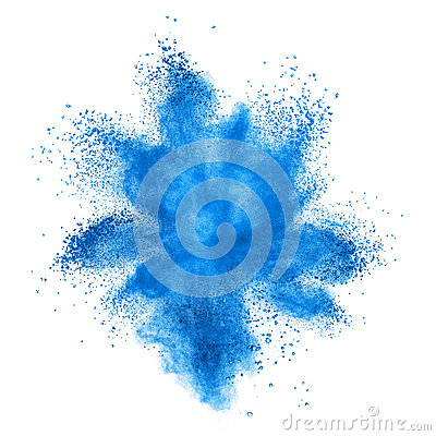 Free Color Powder Explosion Isolated On White Royalty Free Stock Photo - 49666845