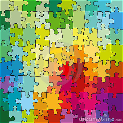 Free Color Puzzle Stock Images - 3373174